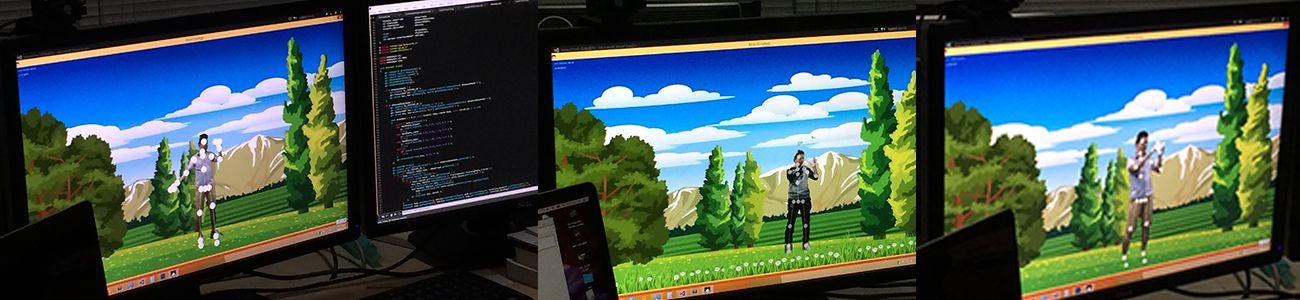 Kinect复杂背景抠像互动